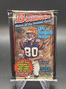 Bowman 2000 NFL Football Hobby Factory Sealed Pack Possible Tom Brady PSA 10 (C)