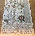 GLOUCESTER CAMPDEN WARWICK COVENTRY OWEN BOWEN MAP 1720 FROM BRITANNIA DEPICTA