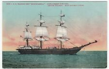 "US Training Ship, ""Monongahela"" PPC, Unposted, USN, Launched 1862, Burnt 1908"