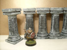 Frostgrave ADD terrain column pillars warhammer roman greek ruins tomb statue