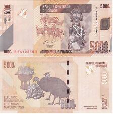 Congo DR - 5000 Francs 2013 UNC Lemberg-Zp