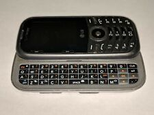 LG Cosmo 3 LG-VN251S Silver/Gray Verizon Wireless QWERTY Slider Cell Phone