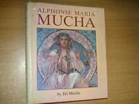 Alphonse Maria Mucha: Life and Work by Mucha, J Hardback Book The Cheap Fast