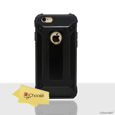 "Shockproof Armour Case/Cover Apple iPhone 6/6s (4.7"") / Screen Protector / Black"