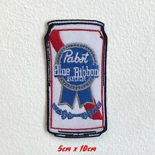 Pabst Blau Band Bier Kann Bestickt Eisen Aufnäher #1552
