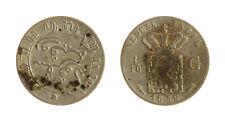 s1170_267) NETHERLANDS INDIES - INDIE OLANDESI 1/10 GULDEN  AG 1858