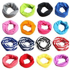 Toddler Kids Baby Neck Shawl Boy Girl Cotton Warm Scarf Neckerchief Scarves Gift