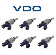 BMW 330Ci E46 01-06 530i 01-05 E36 E46 E53 E60 E83 Set of 6 Fuel Injectors VDO