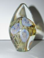 Signed Robert Eickholt Sea LifeJellyfish Art Glass Paperweight 800