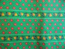 WtW Fabric Vintage Retro Dot Floral Garden Flower BTY Folk Country Quilt