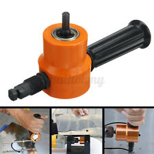 Saw Cutting Drill Attachment Double Head Sheet Nibbler Metal Cutter Tool Set β