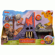Just Play Lion Guard Hyena Hideout Playset (Inc Janja Figure + Lava trap) Age 3+