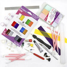 Polymer Clay Start Up Kit - Tools Cutters Sculpey Premo Bundle