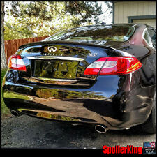 (244L)Rear Trunk Lip Spoiler Wing (Fits: Infiniti M36 / M56 2011-13) SpoilerKing