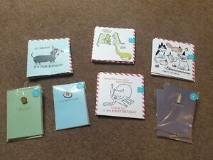 Job Lot of Ohh Deer and Gemma Correll Birthday Greetings Cards