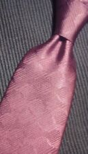 NABOTH BURGUNDY HAND MADE MENS SILK NECK TIE