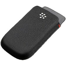 Genuine RIM HDW-31013-001 BlackBerry Leather Pocket For Torch 9800 9810 - Black