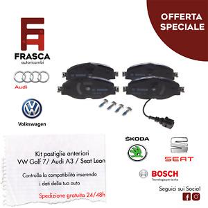 PASTIGLIE FRENO ANTERIORI BOSCH 0986494660 VW GOLF 7 PASSAT AUDI A3 PASTICCHE