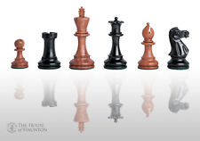 """USCF Sales The Grandmaster Elite Chess Set - Pieces Only - 4.0"""" King - Golden Ro"""