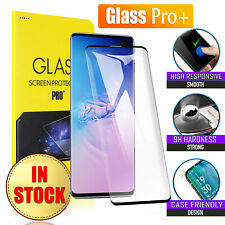 For Samsung Galaxy S8 S9 S10 Plus S10e Note 9 10 Tempered Glass Screen Protector