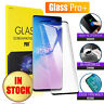 Samsung Galaxy S8 S9 S10 Plus S10e Note 8 9 10+ Tempered Glass Screen Protector