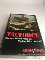GDW/GHQ: Tacforce. Comprehensive Rules. Unpunched Complete wargaming