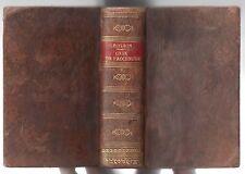 J.A. ROGRON CODE DE PROCEDURE CIVILE EXPLIQUE 3e ed. augm. 1831 DROIT RELIE CUIR