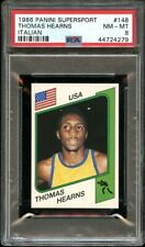 1986 Panini Supersport Italian #148 Thomas Hearns  PSA 8 NM-MT
