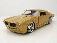 Pontiac Firebird 1972 gold Modellauto 1:24 Jada Toys