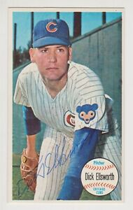 Dick Ellsworth Autographed 1964 Topps Giant Card # 17