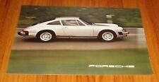 Original 1975 Porsche 911S & 911 Carrera Sales Brochure