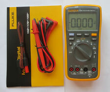 USA Seller FLUKE 17B+ Digital multimeter Tester DMM with TL75 test leads F17B+