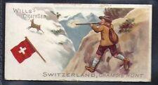 WILLS-SPORTS OF ALL NATIONS-#25- CHAMOIS HUNT - SWITZERLAND