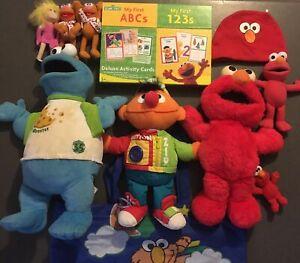 Sesame Street Muppets Bundle Cookie Monster Ernie Elmo Miss Piggy Fozzie Bear