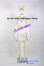 Darkstalkers Felicia Cosplay Costume Women Jumpsuit Bodysuit Tail