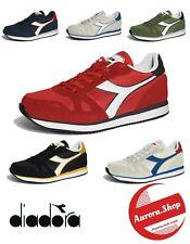 scarpe UOMO diadora SIMPLE RUN sneakers da ginnastica running sportive 6 colori