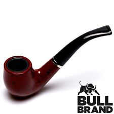 Vintage Tobacco Pipe High Quality Walnut Effect Smoking Bowl Mens Gift Boxed