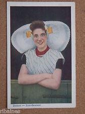 R&L Postcard: Netherlands, Zeeland, Zuid-Beveland, Dutch Lady in Costume