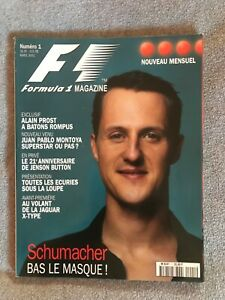 F1 - FORMULA 1 MAGAZINE - N° 1 - MARS 2001 - RARISSIME !! PROST, SCHUMACHER ...