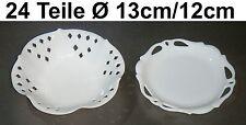 24x Ciotola di Porcellana Guscio Decorativo Laborioso Design Sushi