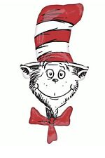 "The Cat In The Hat 42"" Anagram Balloon Birthday Party Decorations"