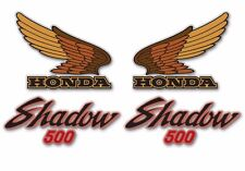 1984 Honda VT500C Shadow- decal set