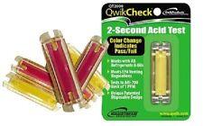 Qwik Check QT2000 Acid Test Kit Mainstream Engineering - New