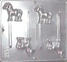 Horse Lollipop Chocolate Candy Mold  3307 NEW