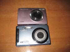 Samsung L100 PINK and BLUE Sanyo Vpc T850 8.1 Megapixel Copper Digital Camera