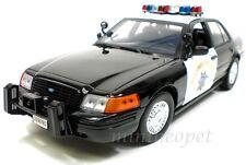 MOTORMAX 73501 FORD CROWN VICTORIA 1/18 POLICE HIGHWAY PATROL BLACK
