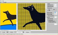 Create Knitting patterns from computer images or pictures - Great software tool