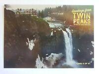 Twin Peaks Gold Box Postcard #6 of 61 -  Falls - 2007