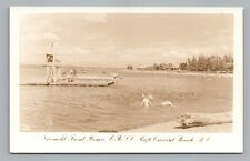 Nicomekl River—Crescent Beach BC Photo RPPC Vintage SURREY British Columbia 50s