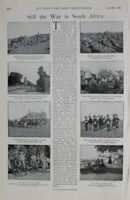 1900 PRINT WAR IN SOUTH AFRICA BOER PRISONERS IMPERIAL YEOMANRY MAXIM GUN PARTY